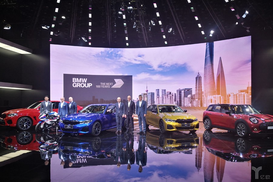A new generation of BMW3 is in the lead. BMW Group is showing up at Shanghai Auto Show with six start-up models.